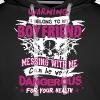 I Belong To My Boyfriend - Men's Premium Hoodie