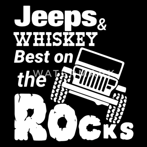 jeeps and whiskey best on the rocks men s premium hoodie spreadshirt Low Jeep Custom design