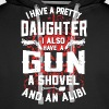 I Have A Pretty Daughter - Men's Premium Hoodie