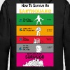 Earthquake Survival Guide - Men's Premium Hoodie