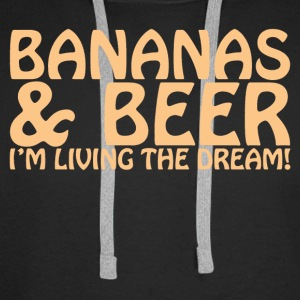 BANANAS AND BEER - Men's Premium Hoodie