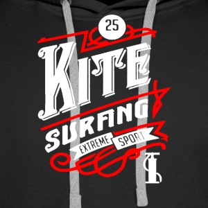 Kite Surfing Shirt - Men's Premium Hoodie