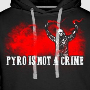 ACAB Pyro is not a crime - Men's Premium Hoodie