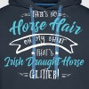 Glitter Irish Draught Horse  - Men's Premium Hoodie