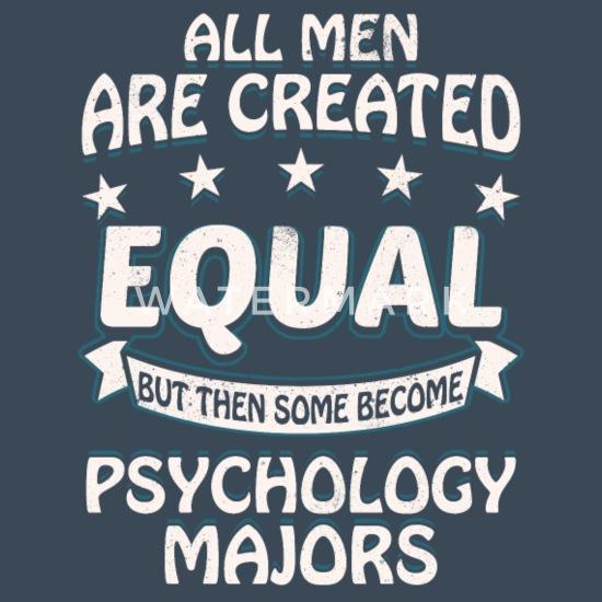 Psychology Majors Men's Premium Hoodie