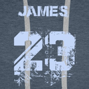 James 23 - Men's Premium Hoodie