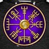 Norse Vegvisir Viking Compass - Purple - Men's Premium Hoodie