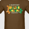 I support balloon animal rights - Men's T-Shirt