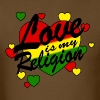 love is my religion - Men's T-Shirt