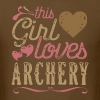 This Girl Loves Archery - Men's T-Shirt