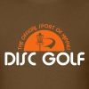 Disc Golf Official Sport of Hippies - Men's T-Shirt