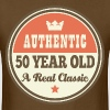 50th Birthday Vintage Crown Funny - Men's T-Shirt