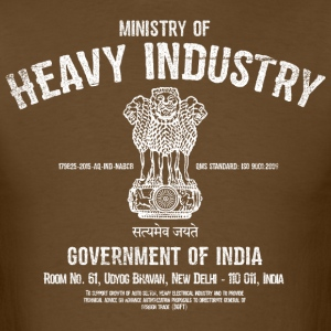 Ministry of Heavy Industry - Men's T-Shirt