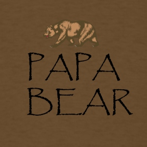 Papa Bear Shirt - Men's T-Shirt