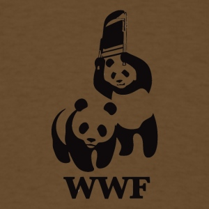 WWF Parody - Men's T-Shirt