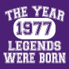 40th-Birthday-1977-The Year Legends Were Born - Men's T-Shirt