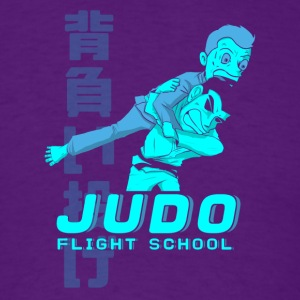 JUDO FLIGHT SCHOOL - Men's T-Shirt