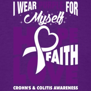 Crohn's & Colitis Awareness T Shirt - Men's T-Shirt