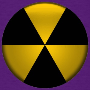 Radioactive Button - Men's T-Shirt