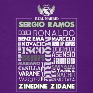 Real Madrid Design - Men's T-Shirt