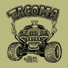 Toyota Tacoma off road truck - Men's T-Shirt