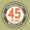 45th Birthday Vintage Retro - Men's T-Shirt