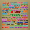 Tennis Terms Shirt - Men's T-Shirt
