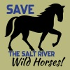 Save the Wild Horses - Men's T-Shirt