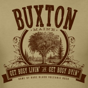 Buxton, Maine - Men's T-Shirt