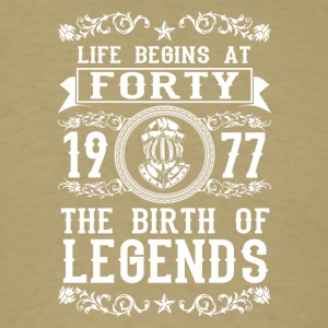1977 - 40 years - Legends - 2017 - Men's T-Shirt