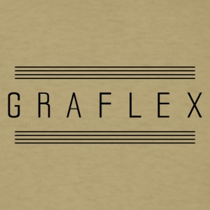 graflex stripes - Men's T-Shirt