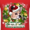 Dog Lover Merry Christmas Chihuahua - Men's T-Shirt
