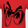 Sutt Steve glasses - Men's T-Shirt