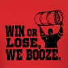 Stanley Keg - Booze - Men's T-Shirt