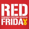 Red Friday Remember Everyone Deployed - Men's T-Shirt