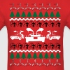 Back to the Future Ugly Christmas Sweater - Men's T-Shirt