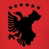 Albanian Autochthonous Flag - Men's T-Shirt