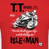 Isle Of Man TT Poster 1961 (check out the back of the shirt!!) - Men's T-Shirt