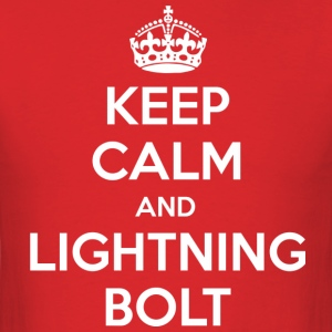 Keep Calm & Lightning Bolt