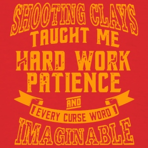 Shooting Clays Taught Me - Men's T-Shirt
