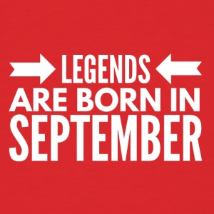 Legends Born September - Men's T-Shirt