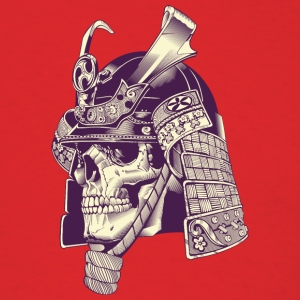 Skull Samurai Warrior cool art - Men's T-Shirt
