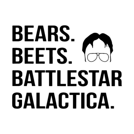 Bears Beets Battlestar Galactica Dad Men S T Shirt Spreadshirt