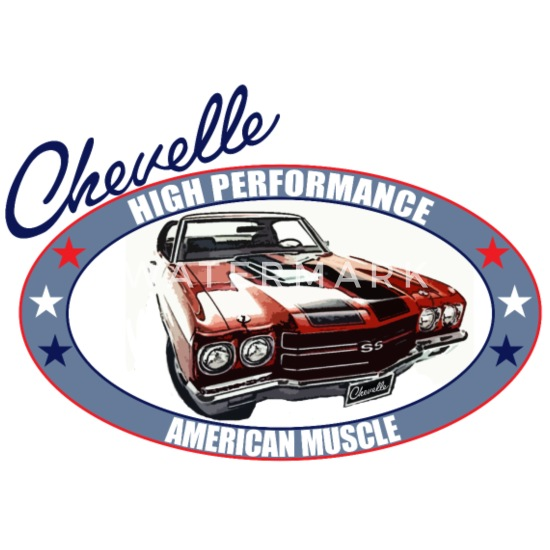American Classic Muscle Car Chevelle Nova Muscle Car V8 SS Hooded Hoodie for Men