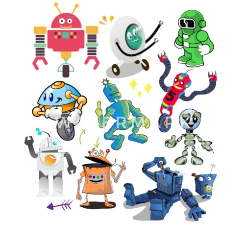 Types Of Robots Reto Collection Robotics Engineer By Mohammed Salah