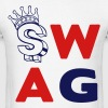 SWAG WITH DOLLAR SIGN - Men's T-Shirt