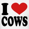 I Love Cows - Men's T-Shirt