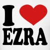 I Love Ezra - Men's T-Shirt