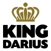 King darius name thing crown - Men's T-Shirt