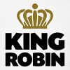 King robin name thing crown - Men's T-Shirt
